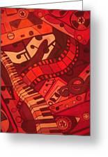 Musical Movements Greeting Card