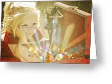 Musicbox Magic Greeting Card
