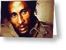 Rastafari Greeting Card