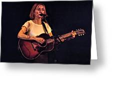 Musician And Songwriter Sam Phillips Greeting Card