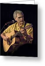 Musician And Songwriter Verlon Thompson Greeting Card