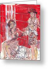 Musicians On Chartres Street I Greeting Card