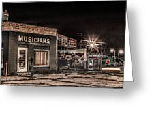 Musicians Union Greeting Card