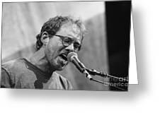 Musicians Warren Zevon Greeting Card