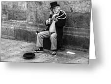 Musicman Greeting Card