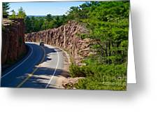 Muskoka Drive Through Greeting Card