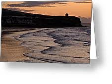Mussenden Sunset Greeting Card