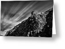 Mussenden Temple - On The Edge Greeting Card