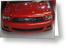 Mustang 2009 Greeting Card