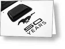 Mustang Celebration Greeting Card