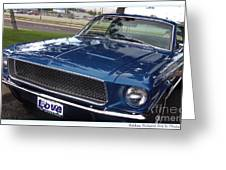 Mustang Classic Greeting Card