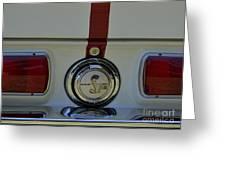Mustang Gt 500 Greeting Card