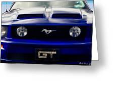 Mustang Gt Greeting Card