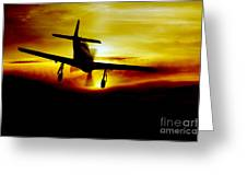 Mustang Recovery Greeting Card