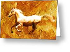 Mustang Greeting Card