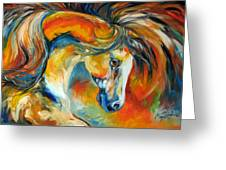 Mustang West Greeting Card