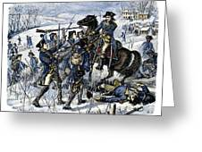 Mutiny: Anthony Wayne 1781 Greeting Card by Granger
