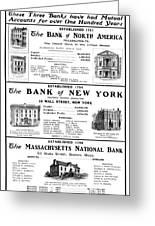 Mutual Funds, 1901 Greeting Card