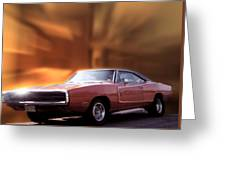 My 70 Charger 440 Six Pack Greeting Card