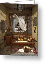 My Art In The Interior Decoration - Morocco - Elena Yakubovich Greeting Card