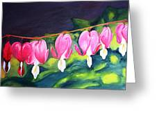 My Bleeding Hearts Greeting Card