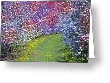 My Coat Of Many Colors Greeting Card