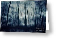 My Dark Forest Greeting Card
