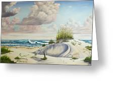My Favorite Beach II Greeting Card
