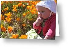 My First Poppy Greeting Card