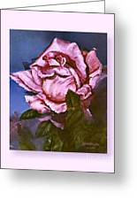 My First Rose Greeting Card