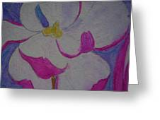 My Flower Greeting Card by Yvette Pichette