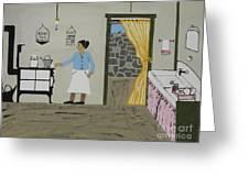 Coal Miners Wife Greeting Card