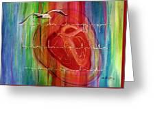My Hearts  Echo Greeting Card