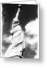 My Lady Liberty Greeting Card