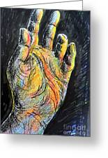 My Left Hand 3 Greeting Card