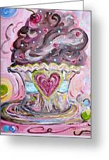 My Lil Cupcake - Chocolate Delight Greeting Card