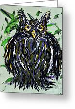 My Little Owl Greeting Card