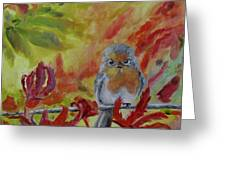 My Little Titmouse Greeting Card