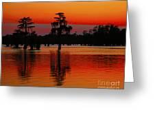 My Louisiana Heart Greeting Card