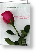 My Love To Keep You Warm Greeting Card