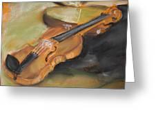 My Lttle Violin Greeting Card
