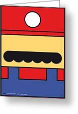 My Mariobros Fig 01 Minimal Poster Greeting Card by Chungkong Art