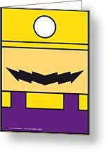 My Mariobros Fig 04 Minimal Poster Greeting Card by Chungkong Art