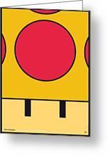 My Mariobros Fig 05c Minimal Poster Greeting Card by Chungkong Art