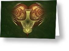 My Mechanical Mantis Greeting Card