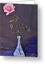 My Mothers Rose Greeting Card