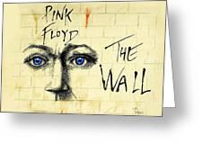 My Pink Floyd Wall Greeting Card by Todd Spaur