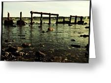 My Sea Of Ruins Greeting Card by Marco Oliveira