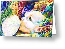My Soul Greeting Card by Kd Neeley