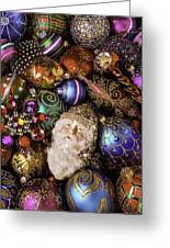 My Special Christmas Ornaments Greeting Card